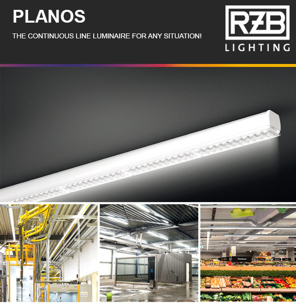 PLANOS THE CONTINUOUS LINE LUMINAIRE FOR ANY SITUATION!
