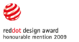 reddot design award honourable mention 2009