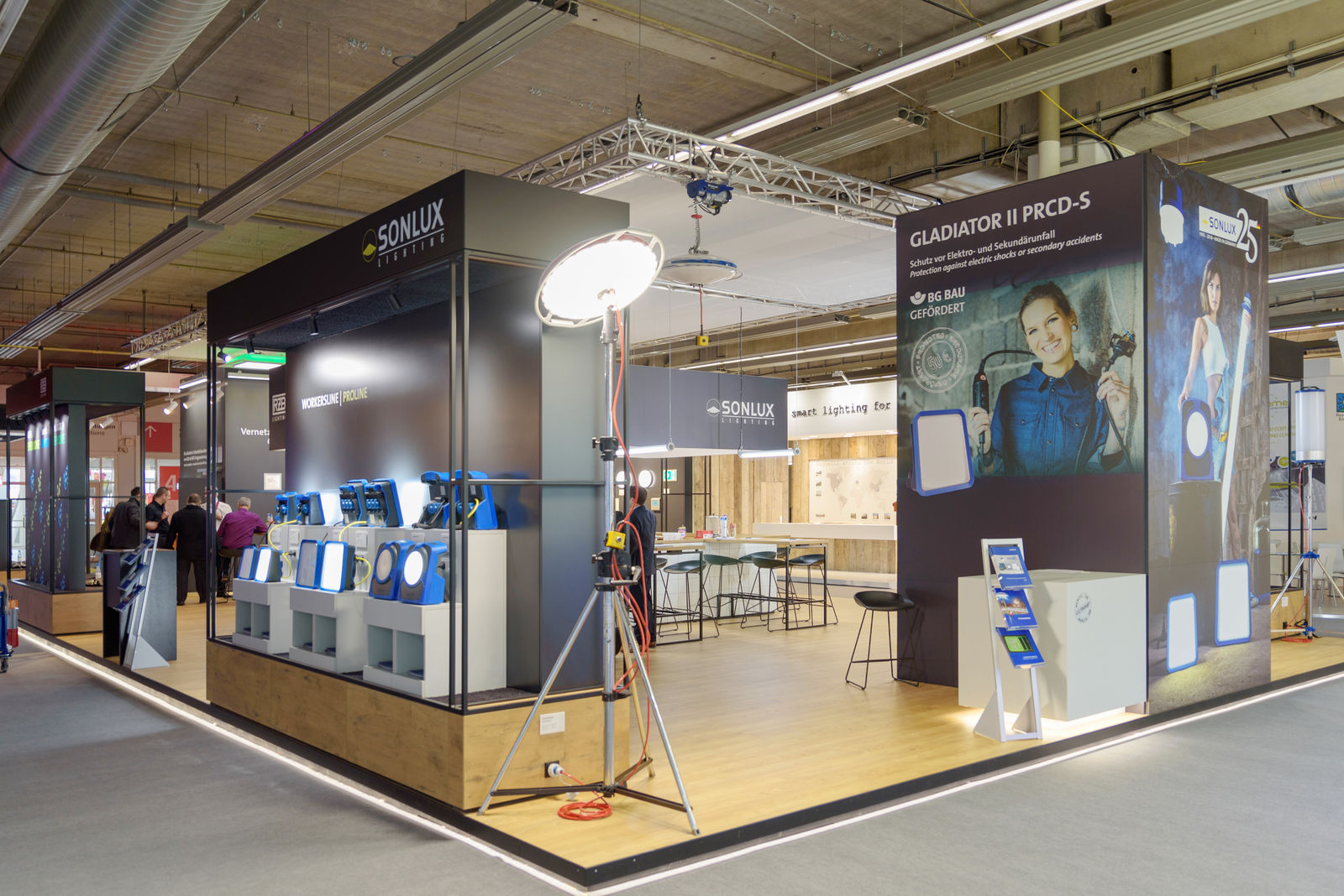 Exhibition Stand Lighting Near Me : How to create a high impact exhibition stand