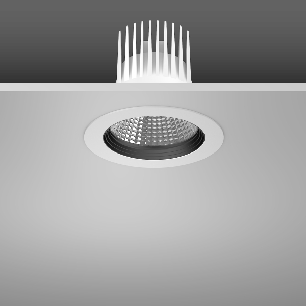 Indoor lighting recessed downlights